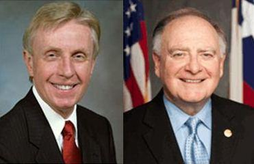Sen. Deuell (L) and Rep. Flynn