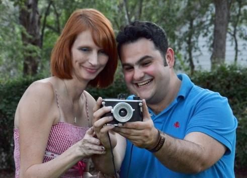 Photo Walk Guides Cindy Roller and Luis Noble