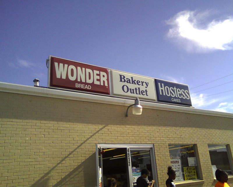 Hostess Outlet Store in Greenville, Texas