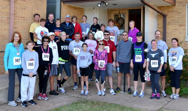2012 Chiggerfest 5K and 2 mile runners