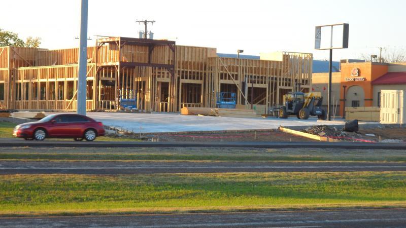 """Construction begins in Commerce on """"Luigi's Restaurant"""""""""""