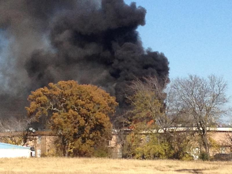 Quail Ridge Apartments burn Sunday in Sulphur Springs