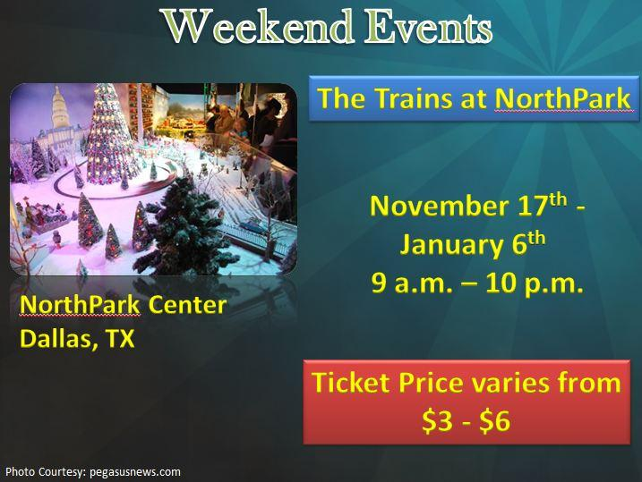 """The Trains"" at NorthPark"