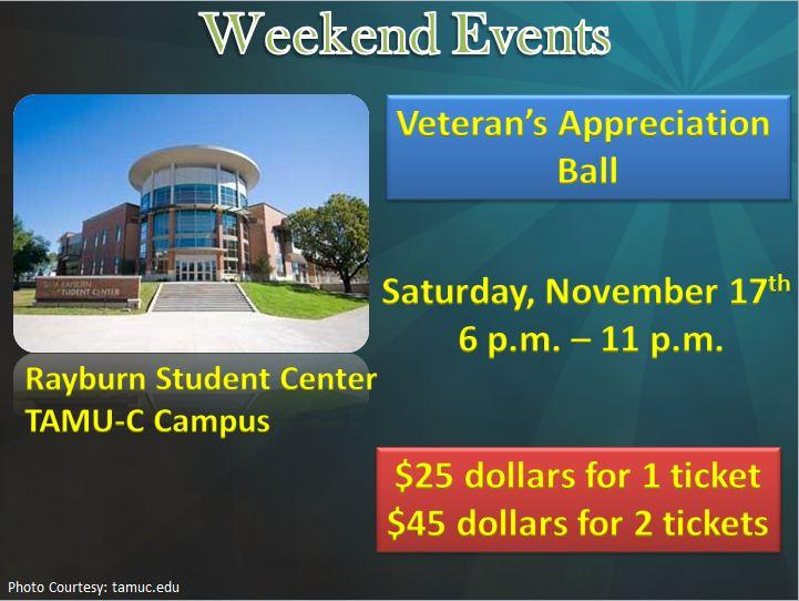Veteran's Appreciation Ball