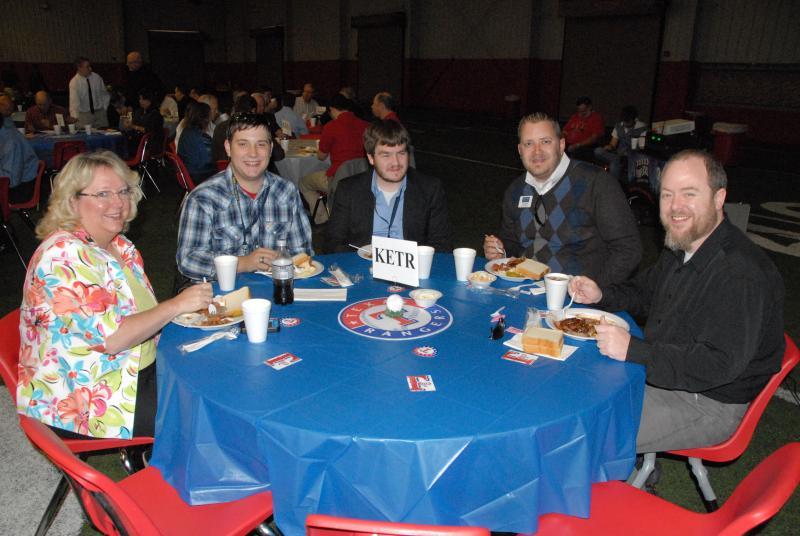 The KETR delegation: Karen Starks, Daniel Starks, Cooper Welch, Jerrod Knight, and Kevin Jefferies