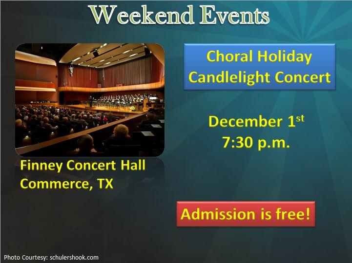 Choral Holiday Candlelight Concert