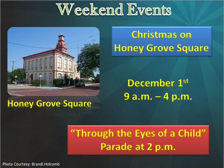 Christmas on Honey Grove Square