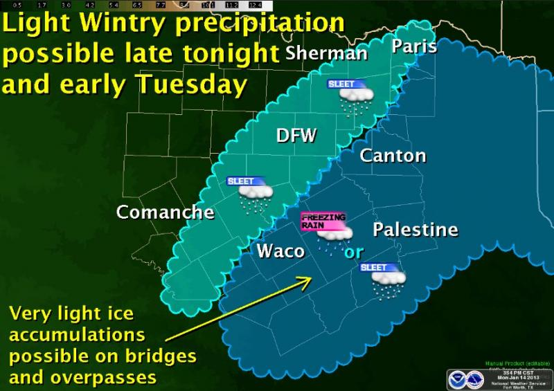 Graphicast for Tuesday, January 15th