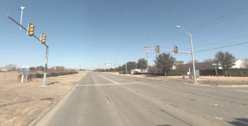 Air Park/FM 1570 Intersection