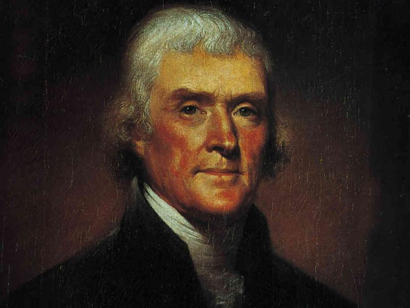 Thomas Jefferson loathed government on principle, but overcame his revulsion when it suited his purposes.