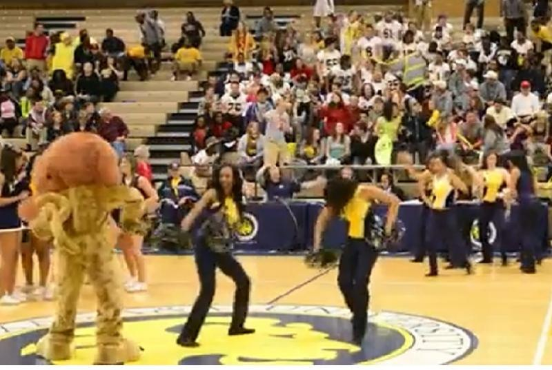 Raw video: Harlem Shake at the Field House | 88 9 KETR