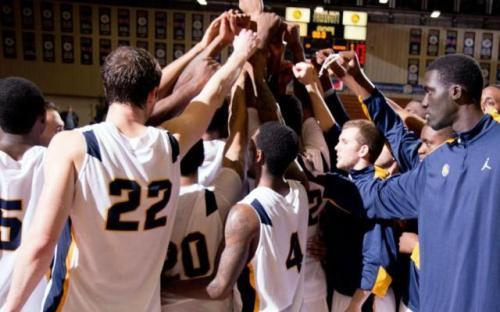 The A&M-Commerce men's basketball team and their Wednesday night guests, Abilene Christian, are battling for the Lone Star Conference's final playoff spot.