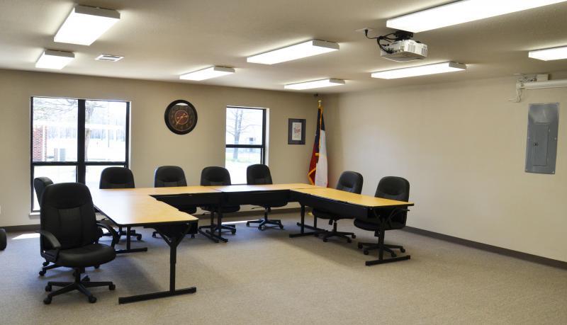 Cooper ISD Boardroom