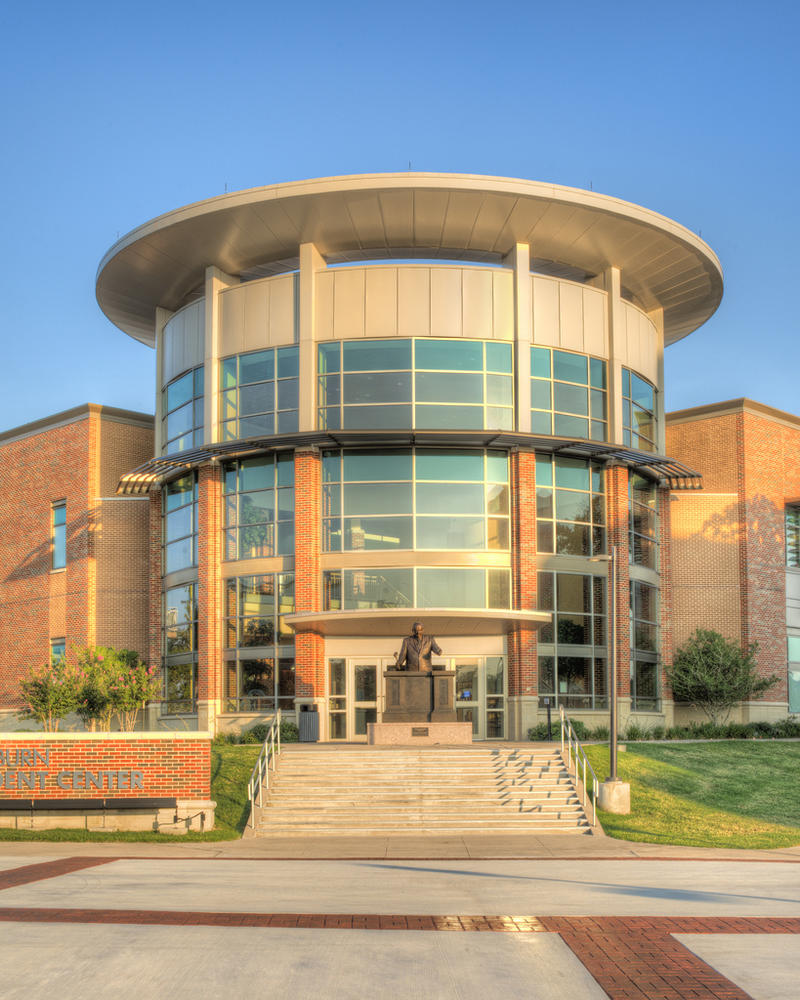 The Sam Rayburn Student Center on the campus of Texas A&M University-Commerce