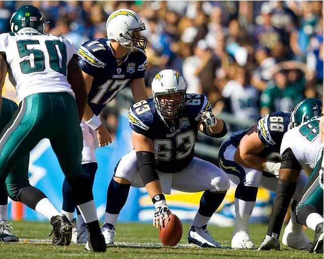 San Diego Chargers against the Philadelphia Eagles