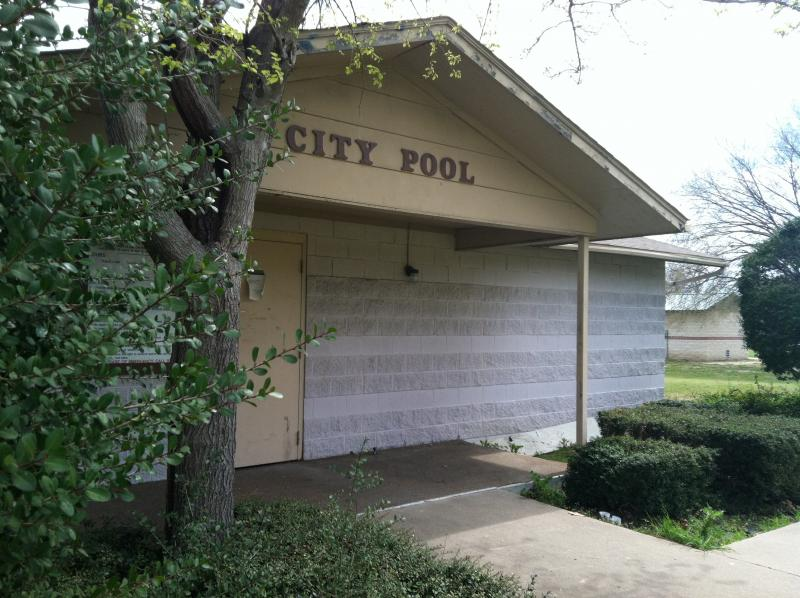 The Commerce city pool - along with its library - faces an uncertain future.