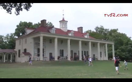 Screen capture from a Mt. Vernon walkabout tour.
