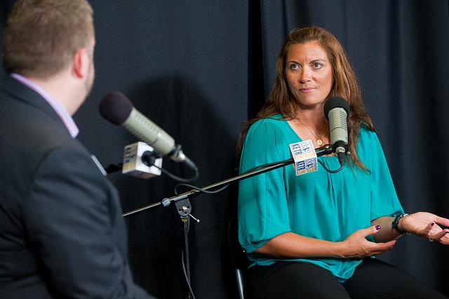 Misty May-Treanor speaks with Jerrod Knight