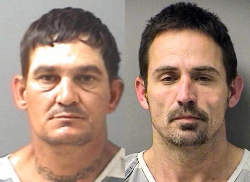 Brian Allen Tucker, a 45-year-old capital murder suspect from Sulphur Springs, and John Marlin King, a 40-year-old from Cumby convicted of burglary, escaped at about 8 a.m. Tuesday morning by breaching a fence at the county jail, officials said.