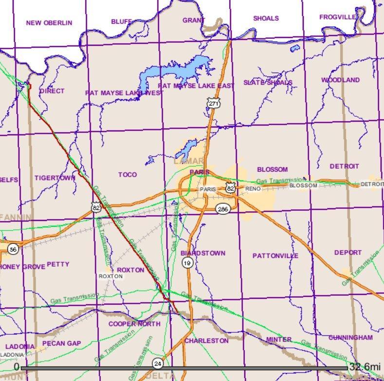 Keystone XL in Lamar County.