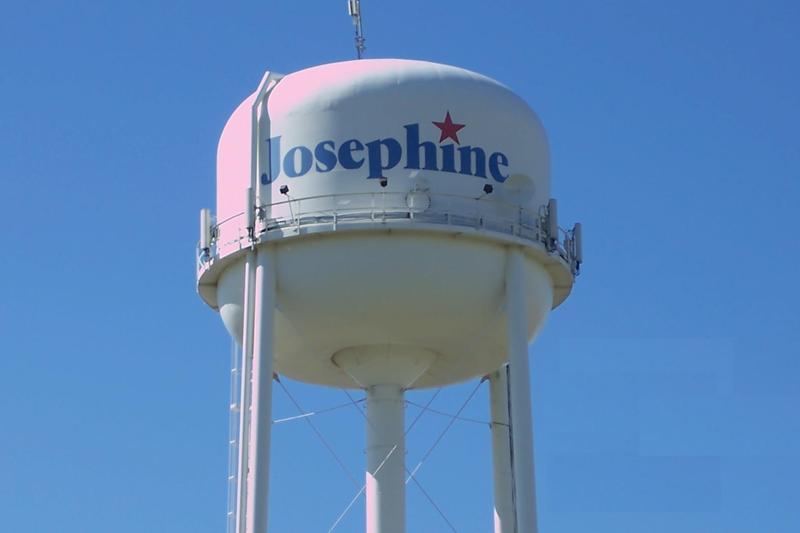 Josephine water tower
