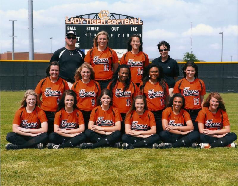 2012-2013 Varsity Lady Tigers