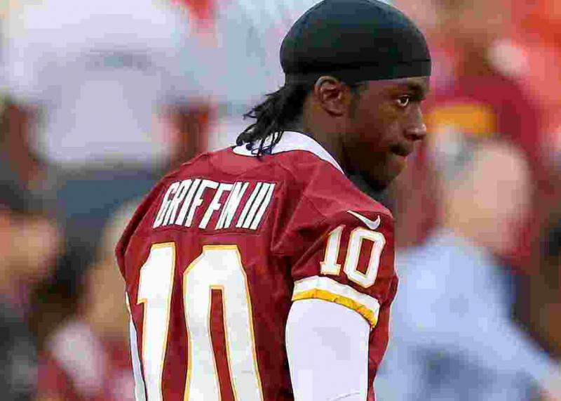 Robert Griffin III of the Washington Redskins.