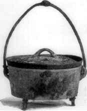 Antique Dutch Kettle (also known as Dutch Oven)