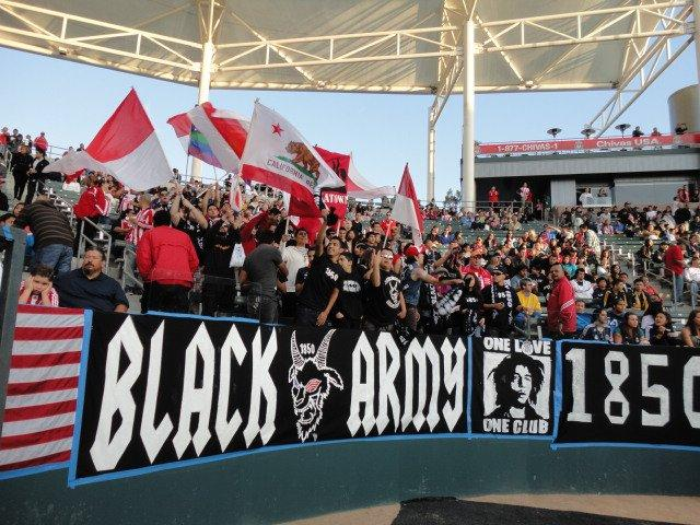 Black Army is one of two supporters groups dedicated to Chivas USA.