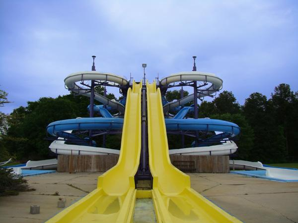 A Splash Kingdom water park.
