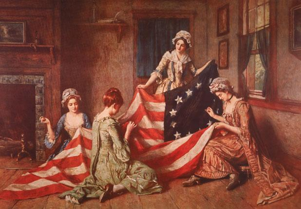 Better finish sewing that flag! July 4 is this Thursday.