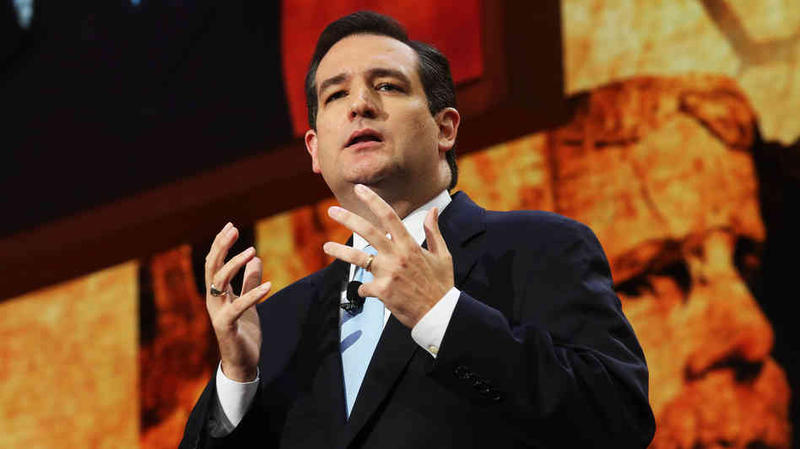 U.S. Senator and GOP Presidential Candidate Ted Cruz