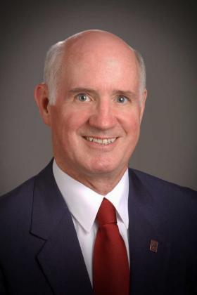 West Texas A&M University President Dr. J. Pat O'Brien
