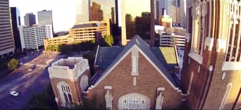 Brian Aiken's video of Dallas has been buzzing on the Internet.