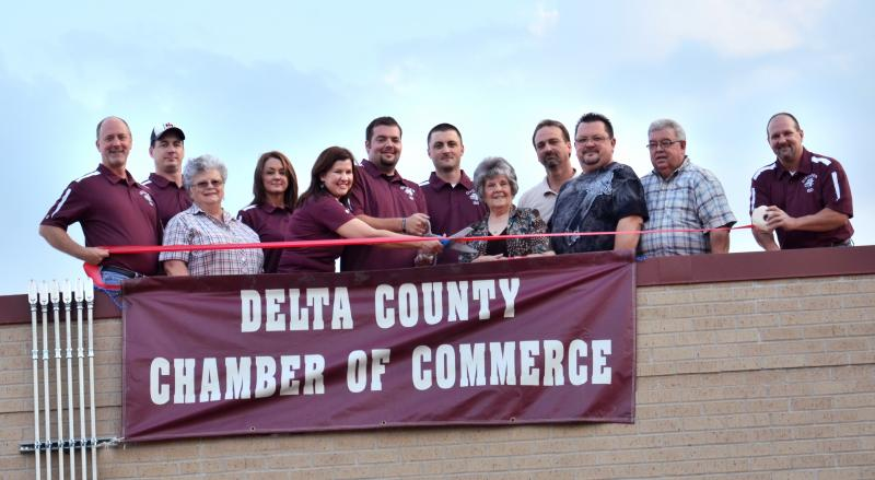 The Delta County Chamber of Commerce hosted a ribbon cutting ceremony for Cooper ISD's new Solar Energy Project.