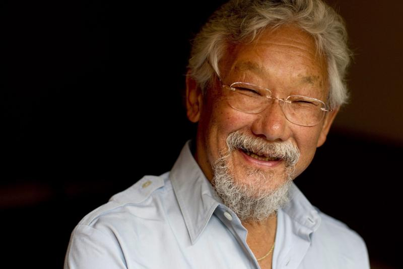 "David Suzuki: ""We are the major predators and despoilers of the planet, and so we blame the problem on overpopulation."""