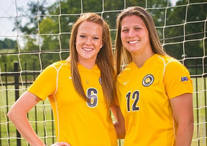 Catie Hyde and Brionna Minde