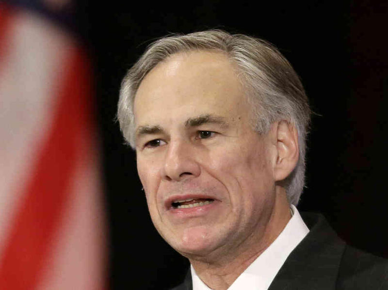 Governor Abbott stated