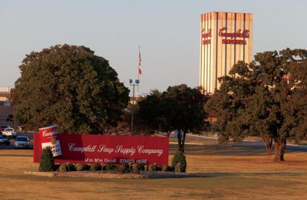 Campbell Soup is a major employer in Lamar County.