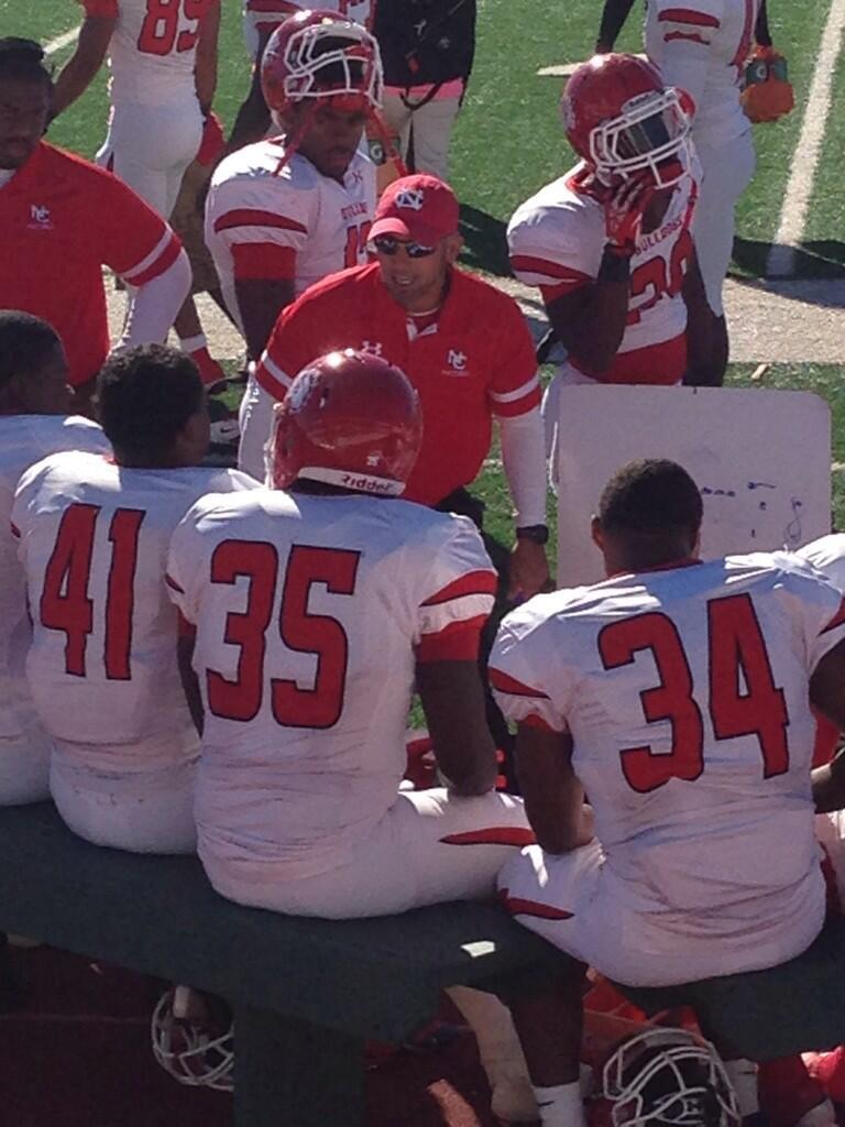 Navarro College Coach Scott Joseph