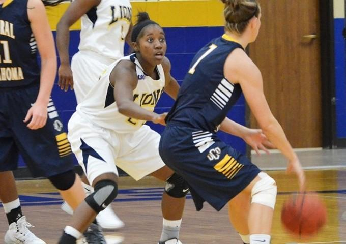 Devin Oliver tied a career high with 19 points in the Lions' loss to Kingsville.