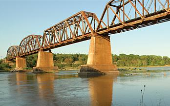 Efforts to reduce salinity in the Red River have been hampered by funding problems. The Red River Authority has investigated the possibility of generating solar power as a way to bring in money.