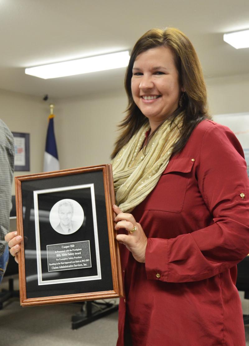 Cooper schools superintendent Denicia Hohenberger