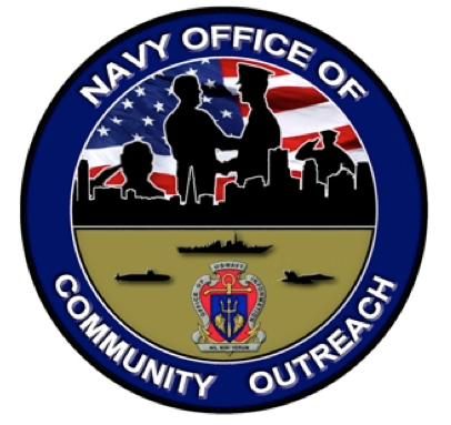 Seal of the Navy Office of Community Outreach