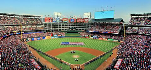 It's Globe Life Park in Arlington.