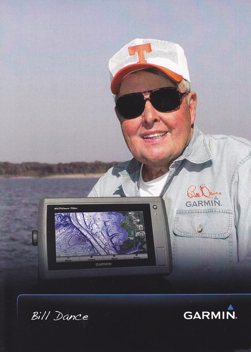 Bill Dance talks of his love for fishing this week.