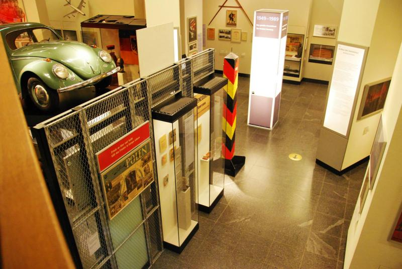 Inside the DDR interactive museum in Berlin, Germany