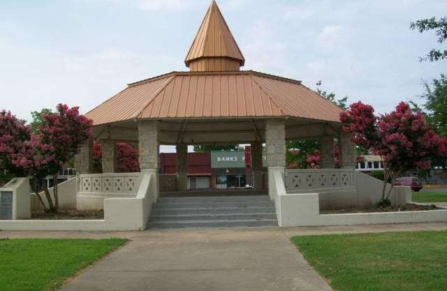 Clean up week helps keep places like the Gazebo on the Square clean!