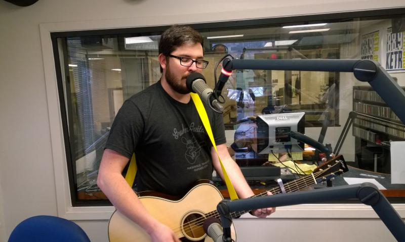 "Cole Risner performs ""A Better Man"" live at KETR"