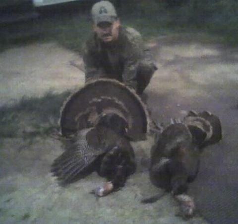 Chris Womack of the Kaufman County Double Beards Chapter of the National Wild Turkey Federation